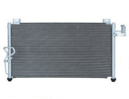 Car air conditioner condenser for MAZDA